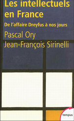 P.Ory & J-F.Sirinelli. Les intellectuels en France. Edt A.Colin, 2004